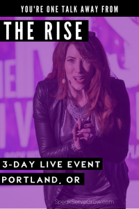 Turn One Talk Into Multiple Six Figures at The Rise with Kristin Thompson