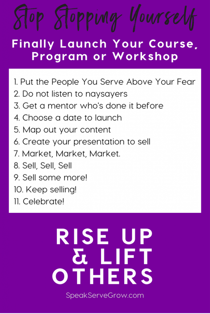 How to Get Unstuck & Launch Your Own Program Product or Course (1)