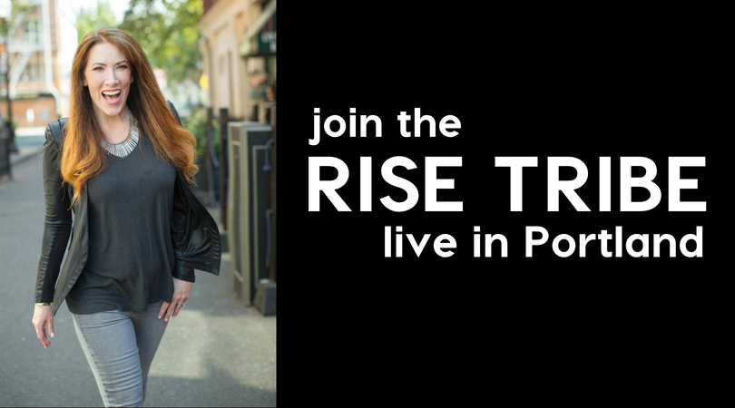 The Rise Live Event Portland Kristin Thompson Training