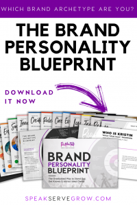 archetype brand personality blueprint