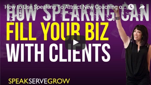 How to Use Speaking To Attract New Coaching or Consulting Clients