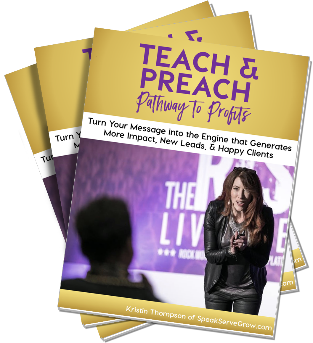 Teach Preach: The Pathway to Profit
